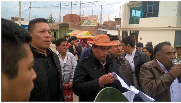 En reunión por puente Comuneros rechazan a Unchupaico y Yauri