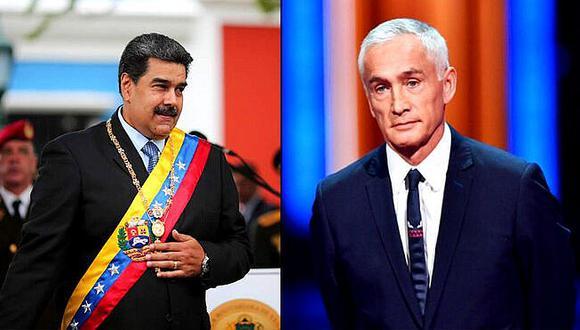 """Maduro a periodista Jorge Ramos: """"Vienes a provocarme, te vas a tragar tu provocación"""" (VIDEO)"""