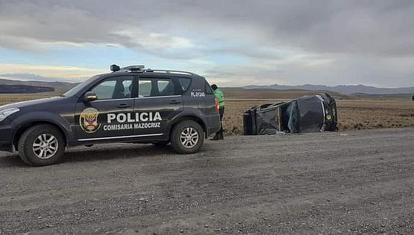 Accidente vehicular deja un fallecido en la provincia de El Collao