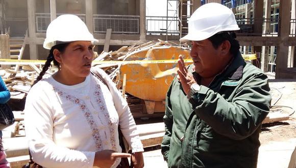 Congresista Coari abordó problemática del colegio San Carlos y Maria Auxiliadora con Ministro de Educación.