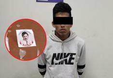 La Libertad: Adolescente extorsionaba con stickers de Pablo Escobar