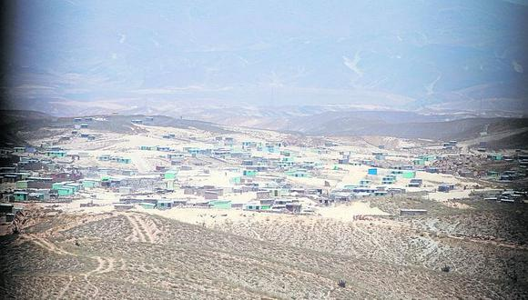 Titulación beneficiaría  a unos mil invasores en toda la ciudad de Arequipa