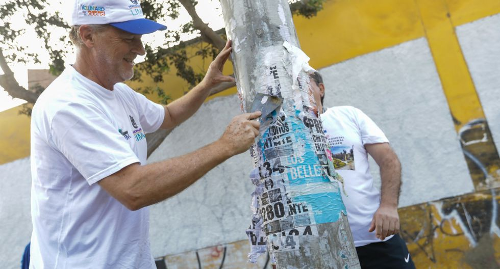 El alcalde de Lima, Jorge Muñoz, lideró la actividad en compañía de 50 funcionarios ediles. (Foto: Difusión)