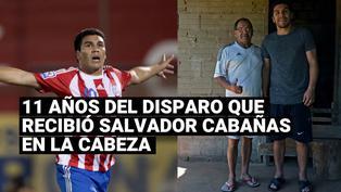 Salvador Cabañas recibió un balazo en la cabeza hace 11 años