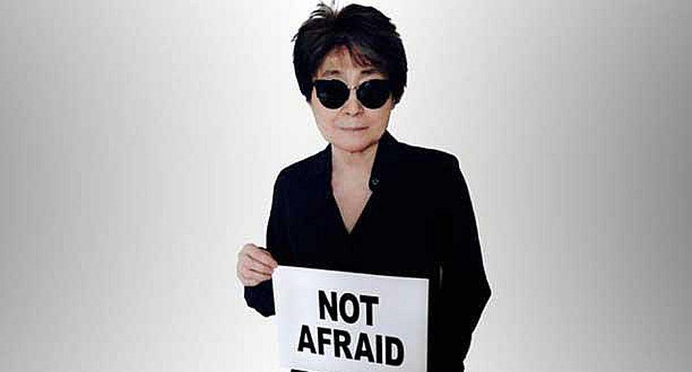 Viuda de John Lennon hizo un llamado a mujeres latinoamericanas víctimas de violencia