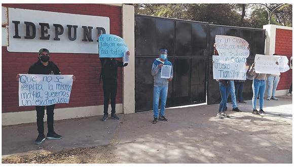 Alumnos de Idepunp en contra de examen virtual para ingreso a la UNP