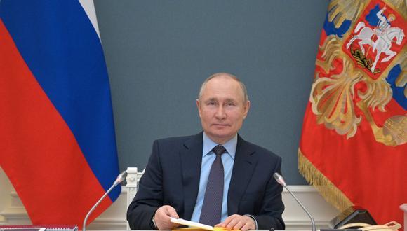 El presidente de Rusia Vladimir Putin. (AFP).
