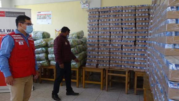 Apurímac: provincias de la región recibirán más de 1600 toneladas de alimentos (Foto: Qali Warma).