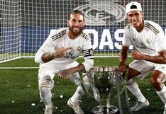 Real Madrid: Sergio Ramos le dice adiós a Raphael Varane (FOTO)