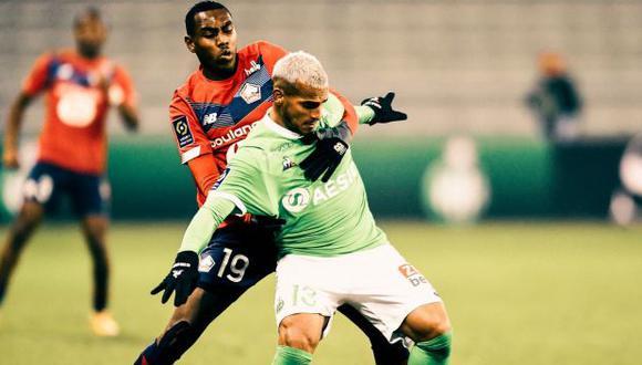 Miguel Trauco juega en Saint Etienne desde el 2019. (Foto: Saint-Étienne)