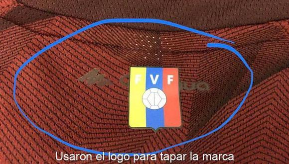 Selección venezolana tuvo que comprar sus camisetas en tienda deportiva