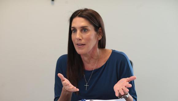 Congresista Carolina Lizárraga será precandidata presidencial del Partido Morado. (Foto: GEC)