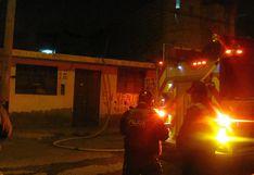 Fogata por Noche de San Juan ocasiona incendio en vivienda en toque de queda