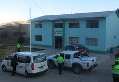 Aislan a 9 policías de la comisaría de Tarata por contagio de COVID-19