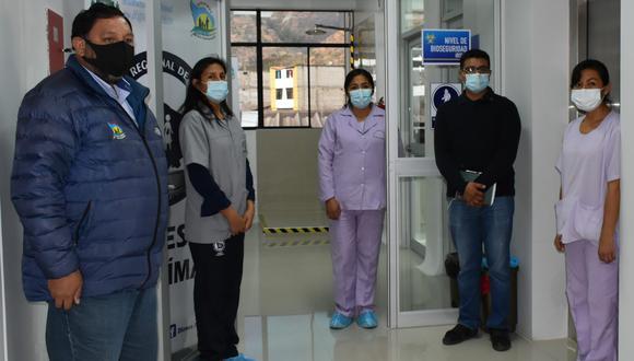 Apurímac: entra en funciones laboratorio molecular para detectar coronavirus (Foto: Diresa Apurímac)