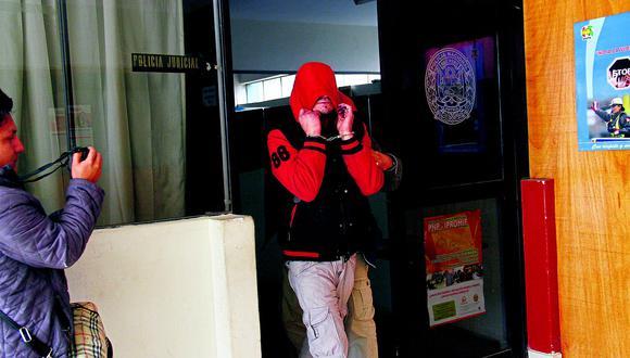 Huancayo: Detienen a sujeto que quiso encender balón de gas tras una riña familiar