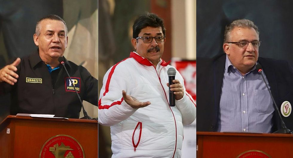 Candidatos a Lima exponen sus planes en foro de trabajadores de construcción civil