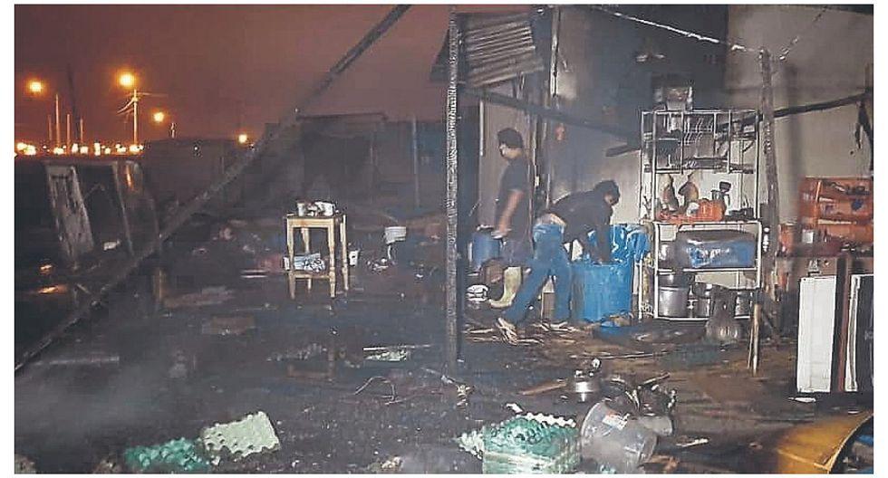 Tres familias pierden todas sus pertenencias en incendio