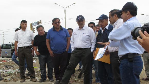 Chiclayo: Ministro de Vivienda constató obras de prevención por el El Niño