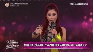 Milena Zárate se va llorando de la pista: Santi Lesmes no quiso disculparse por hablar de su familia (VIDEO)