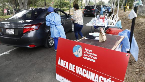 Las llegadas de las dosis han permitido desarrollar las jornadas de vacunación contra el COVID-19 . (Foto: Eduardo Cavero / @photo.gec)