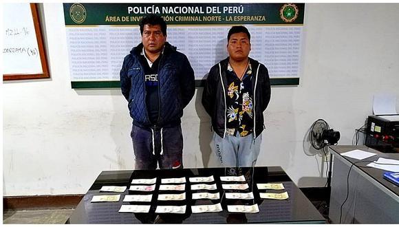 Policía captura a dos extorsionadores en El Milagro