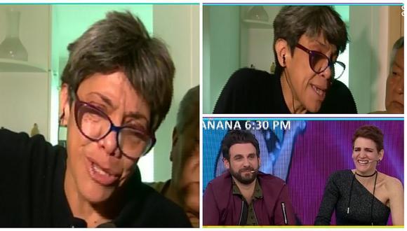 Bettina Oneto: Así fue su insólita reacción en vivo tras acusaciones de su vecina (VIDEO)
