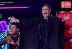 """""""La Voz Perú"""": Eva Ayllón asombrada por nueva versión de su canción """"Ritmo, color y sabor"""""""