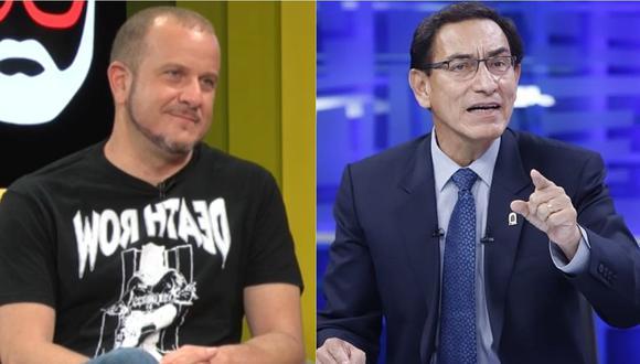 Augusto Thorndike comentó sobre su entrevista con Martín Vizcarra. | Foto: Willax TV - América Televisión.