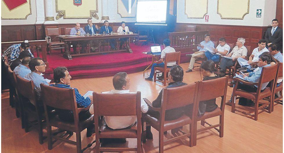 Suspenden debate por alquiler de almacén para MPCh