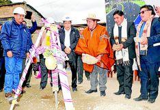 Pasco es quinto a nivel nacional en ejecución de inversión pública