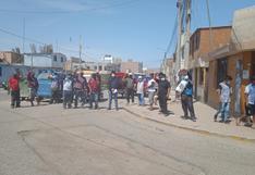 Mototaxistas protestan por obra inconclusa en Chala