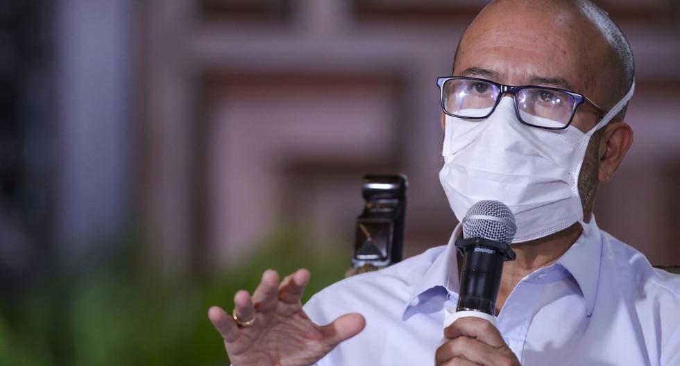 Víctor Zamora, ministro de Salud. (Foto: PCM)
