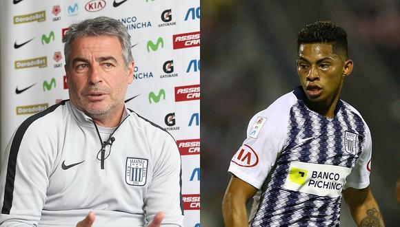 Alianza Lima: Pablo Bengoechea elogió al delantero