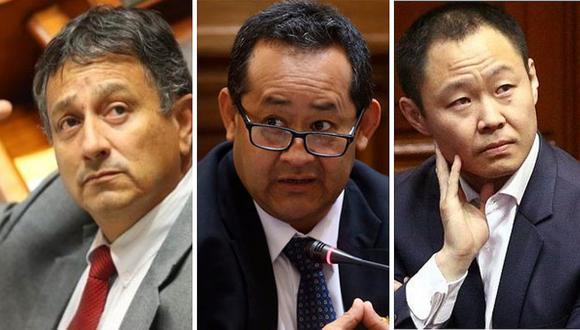 Rechazan reincorporación de Kenji Fujimori, Guillermo Bocángel y Bienvenido Ramírez tras decisión del pleno
