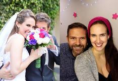Emilia Drago y Diego Lombardi cumplieron seis años casados