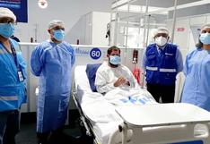 Huánuco: sacerdote contagiado con COVID-19 se recupera favorablemente en Villa EsSalud
