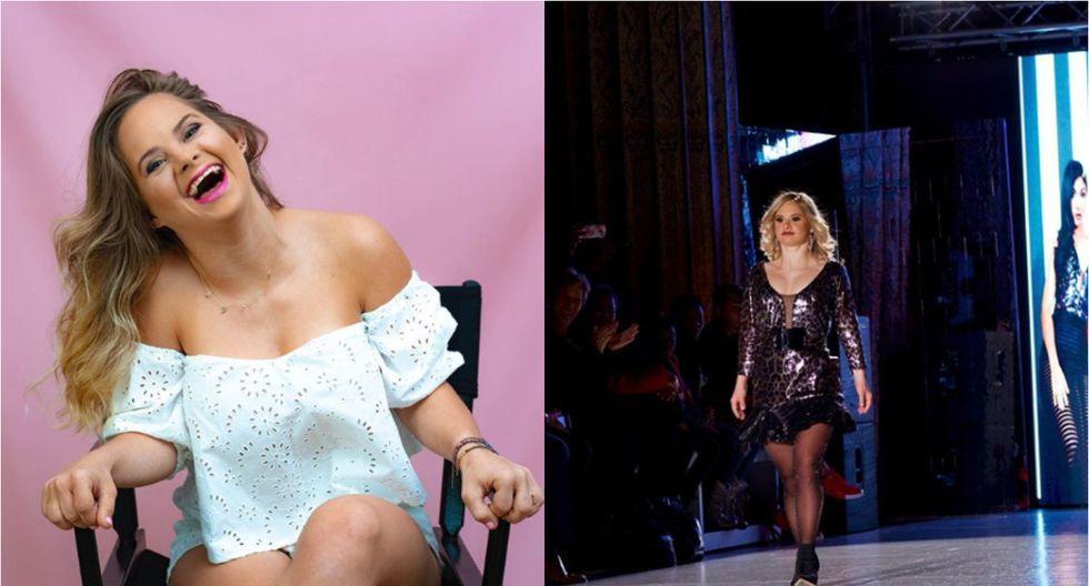 Modelo con Síndrome de Down causa furor al desfilar en la New York Fashion Week 2020