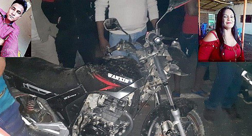 Dos muertos por despiste de moto en Somate Bajo
