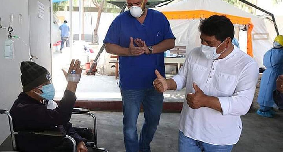Unos 544 745 pacientes se recuperaron y fueron dados de alta, informó el Minsa