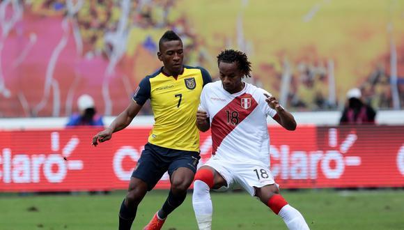 El jugador Pervis Estupiñán de Ecuador lamentó empate de Ecuador y Perú. (Foto: EFE/Franklin Jácome)