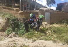 Huancavelica: Joven amanece muerto en cerro