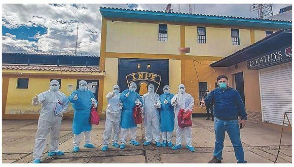 85 reos de penal de Huaraz  superan el virus y 4 siguen tratamiento