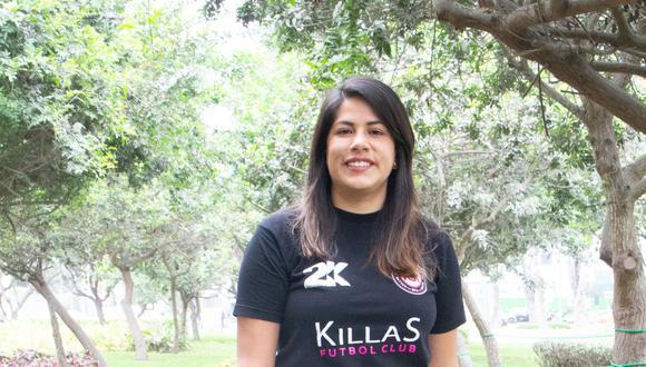 Antonella Cáceres, presidenta de FC Killas.