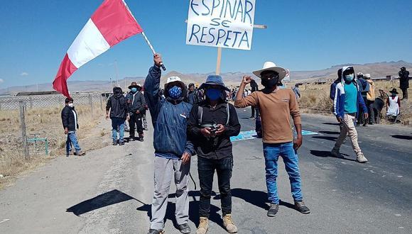 Cusco: firman 'acta de paz' para arribo de comisión de la PCM a Espinar (FOTOS)