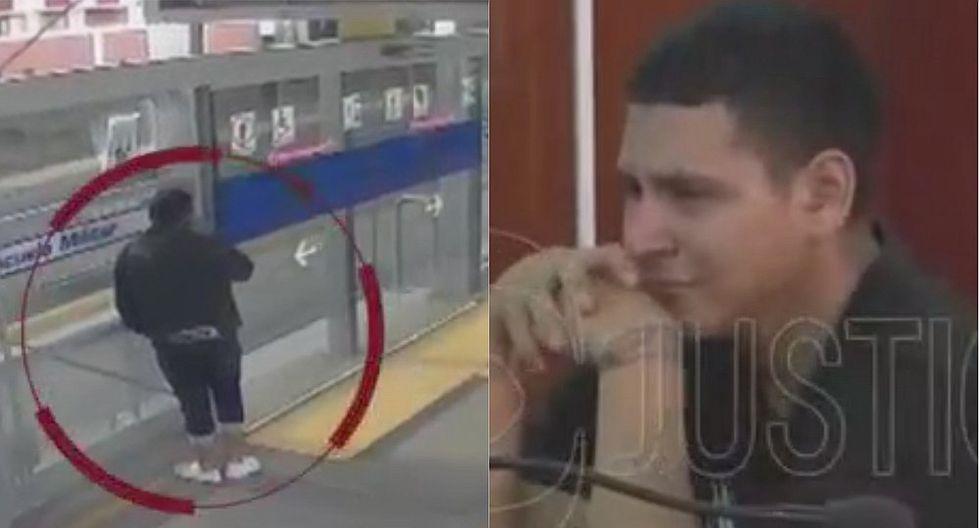Dictan siete meses de prisión preventiva a hombre que asaltó bus del Metropolitano