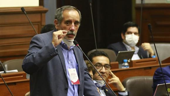 Vocero alterno de Acción Popular indicó que el virtual candidato presidencial tiene la obligación de unir a los militantes y no de separarlos. (Foto: Congreso)