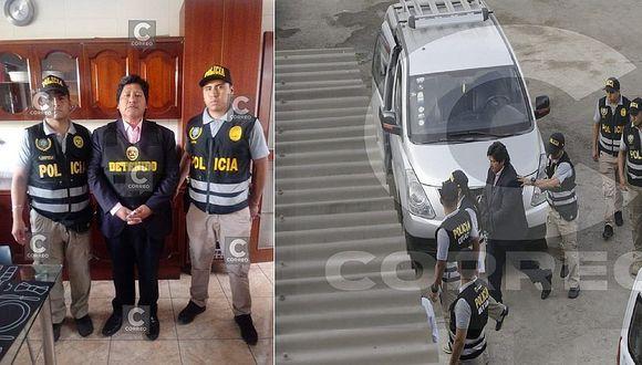 El momento en que Edwin Oviedo sale de su casa detenido por caso 'Los Cuellos Blancos del Puerto' (VIDEO)
