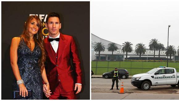 Lionel Messi: empieza fuerte operativo de seguridad en el complejo donde se realizará su boda
