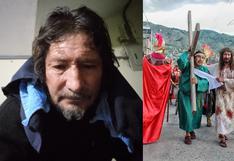 Ayacuchano que interpreta a Cristo lucha contra el COVID-19